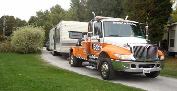 towing rv